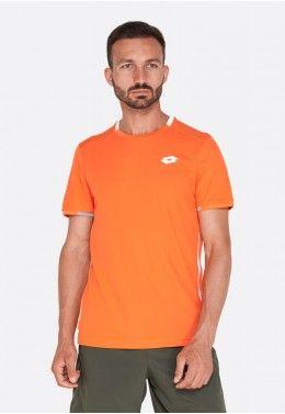 Теннисные футболки для мужчин Футболка для тенниса мужская Lotto SQUADRA TEE PL 210375/513