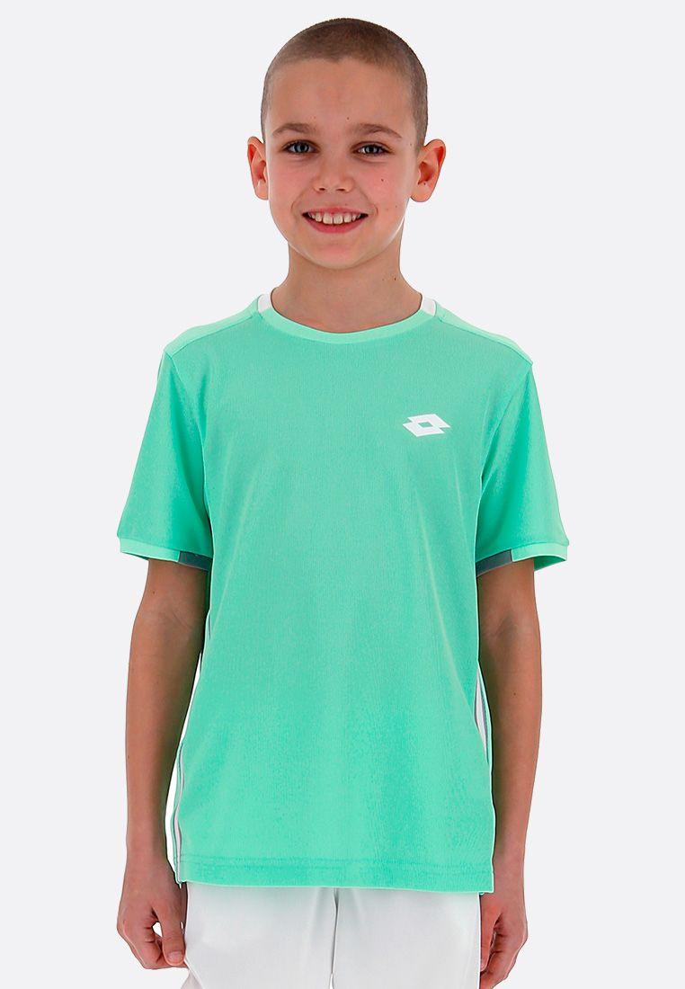 Футболка для тенниса детская Lotto SQUADRA B TEE PL 210381/1CR
