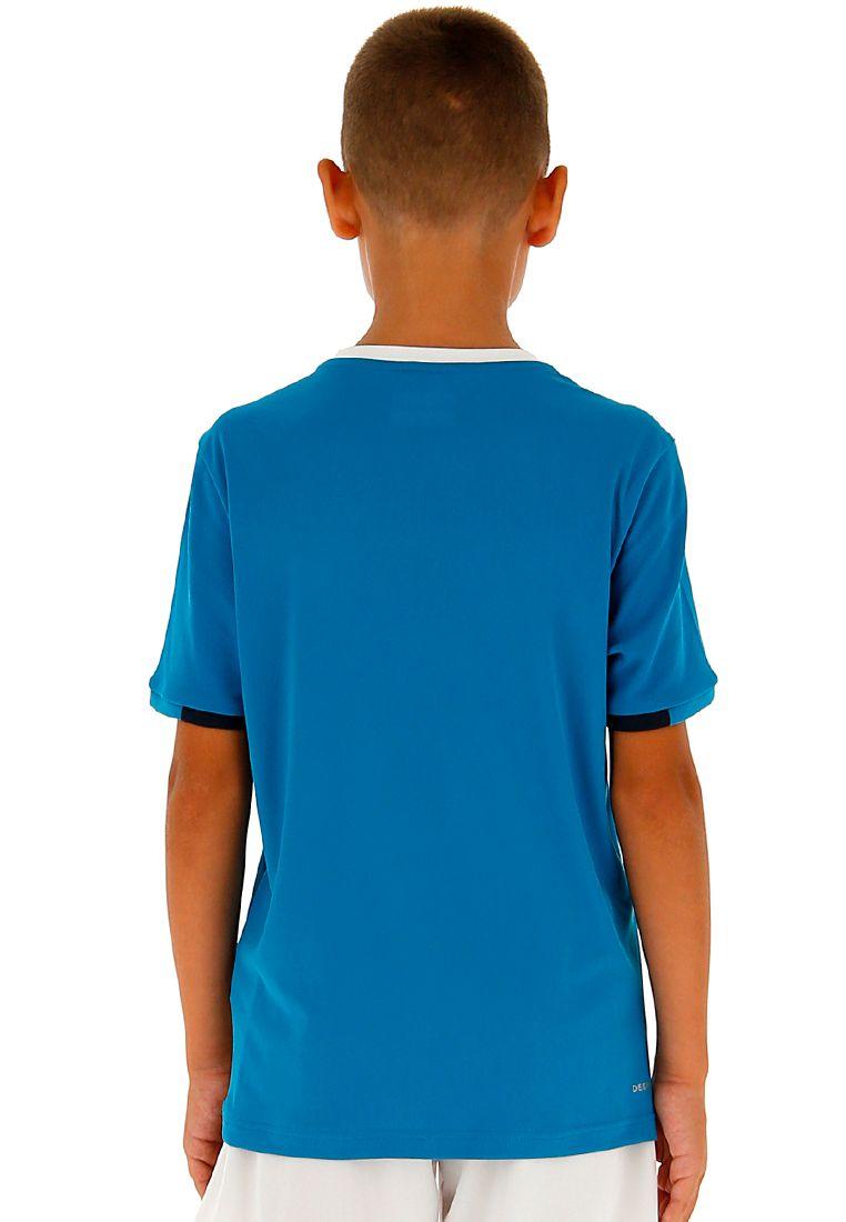 Футболка для тенниса детская Lotto SQUADRA B TEE PL 210381/26P