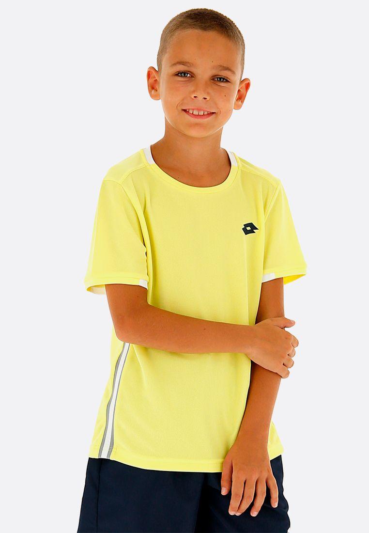 Футболка для тенниса детская Lotto SQUADRA B TEE PL 210381/3DH