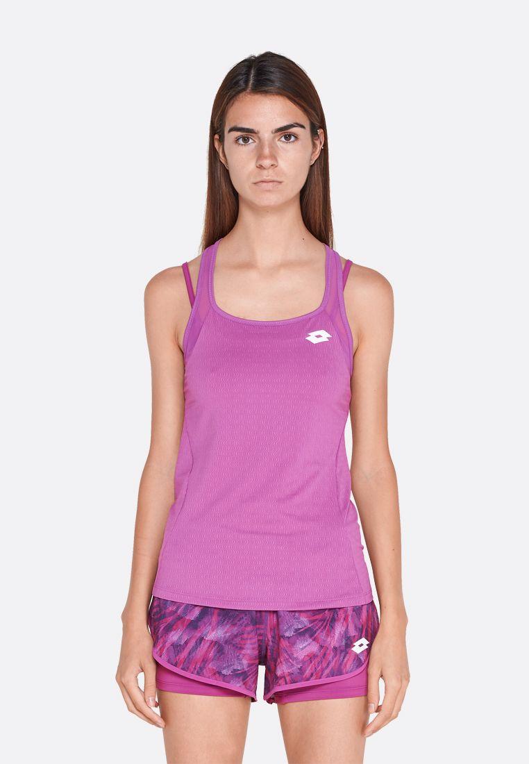 Майка для тенниса женская Lotto TOP TEN W TANK PL 210383/26M
