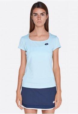 Кроссовки теннисные женские Lotto VIPER ULTRA IV SPD W T3344 Футболка для тенниса женская Lotto TOP TEN W TEE PL 210385/26J