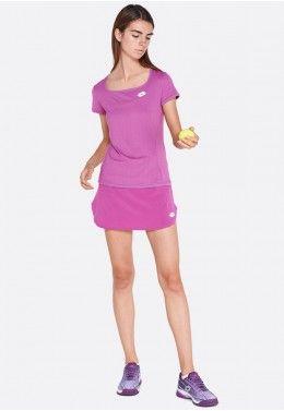 Футболка для тенниса женская Lotto TOP TEN W TEE PL 210385/26M