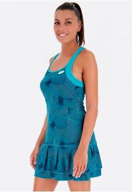 Женская одежда до -70% Теннисное платье женское Lotto TENNIS TECH DRESS PRT PL W 210388/1CP