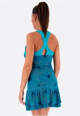 Теннисное платье женское Lotto TENNIS TECH DRESS PRT PL W 210388/1CP