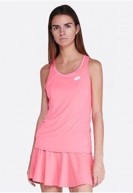 Одежда для тенниса Майка для тенниса женская Lotto SQUADRA W TANK PL 210392/1CQ