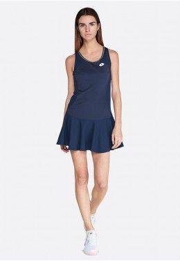 Теннисное платье женское Lotto SQUADRA W DRESS PL 210395/1CI