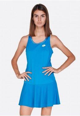 Теннисная одежда для женщин Теннисное платье женское Lotto SQUADRA W DRESS PL 210395/26P