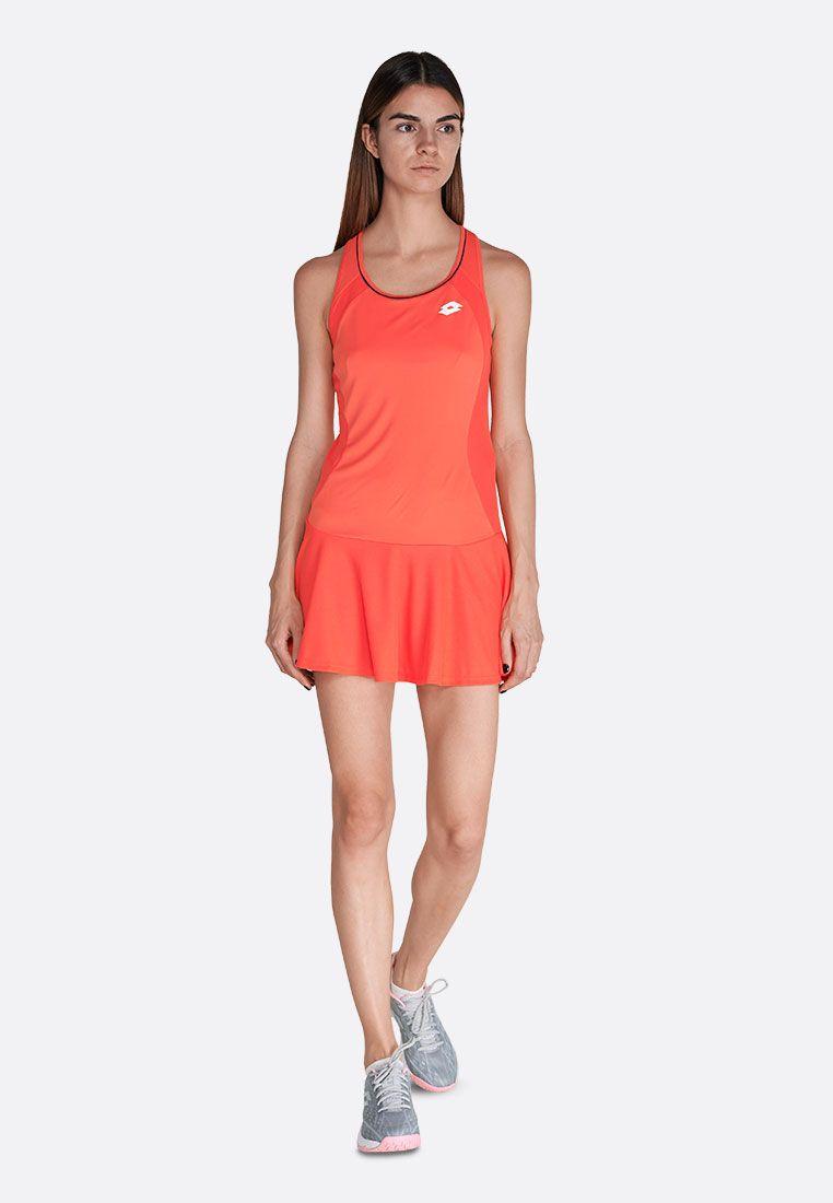 Теннисное платье женское Lotto SQUADRA W DRESS PL 210395/4M6