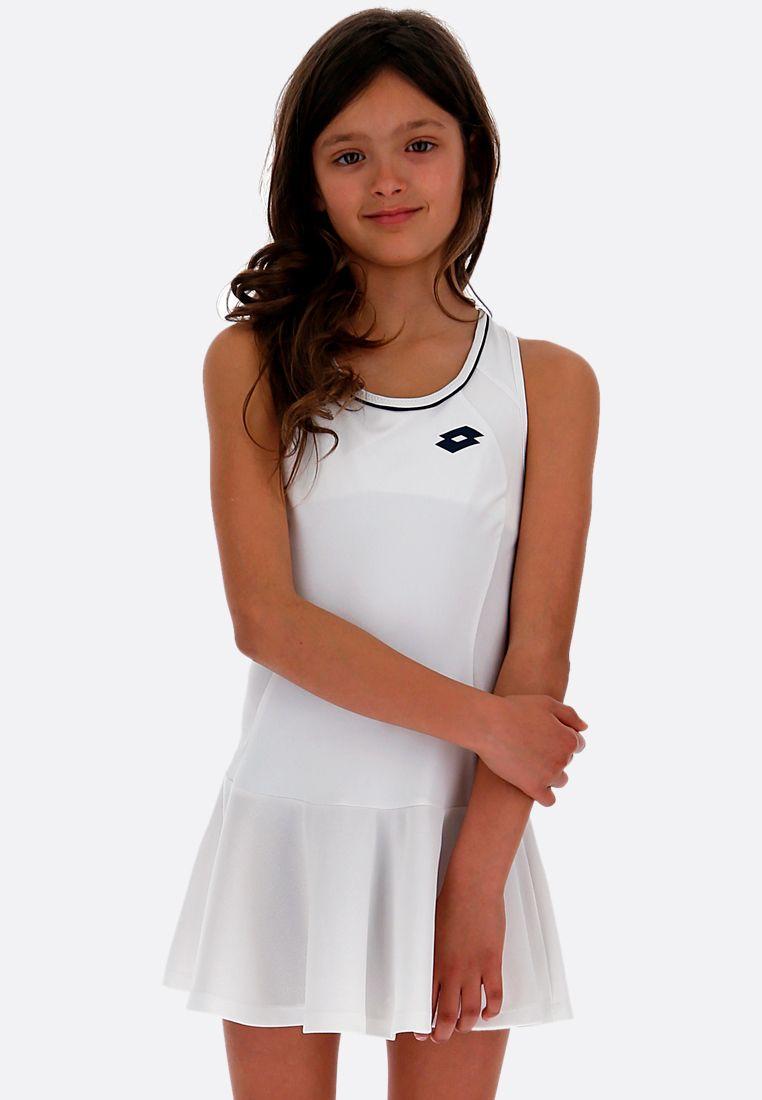 Теннисное платье детское Lotto SQUADRA G DRESS PL 210401/07R