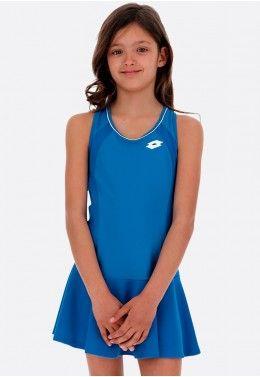 Теннисная экипировка для девочек Теннисное платье детское Lotto SQUADRA G DRESS PL 210401/26P