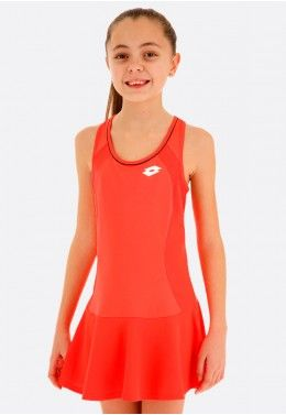 Кроссовки теннисные детские Lotto VIPER ULTRA JR L S9473 Теннисное платье детское Lotto SQUADRA G DRESS PL 210401/4M6