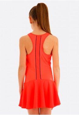 Теннисное платье детское Lotto SQUADRA G DRESS PL 210401/4M6