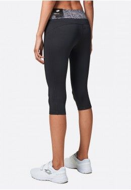 Леггинсы женские Lotto X-RUN LEGGINGS MID BS PL W 210426/1CL