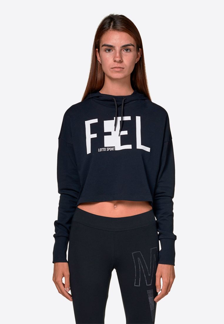 Худи женская Lotto FEEL-FIT II SWEAT HD CO W 210521/1CL