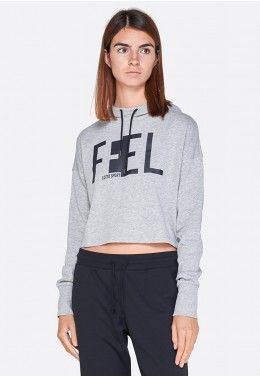 Худи Худи женская Lotto FEEL-FIT II SWEAT MEL HD CO W 210522/1CW