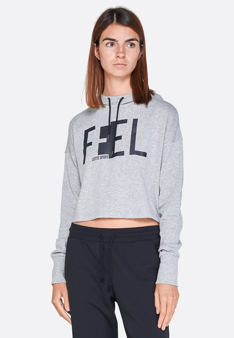 Худи женская Lotto FEEL-FIT II SWEAT MEL HD CO W 210522/1CW