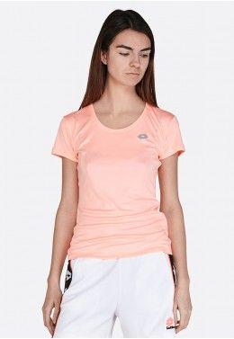 Женская спортивная одежда Футболка женская Lotto SMART W TEE PL 210611/5P2