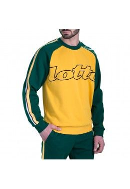 Реглан мужской Lotto ATHLETICA DUE SWEAT RN PL 211188/1CI Реглан мужской Lotto ATHLETICA II SWEAT STP RN PL 210881/1OU