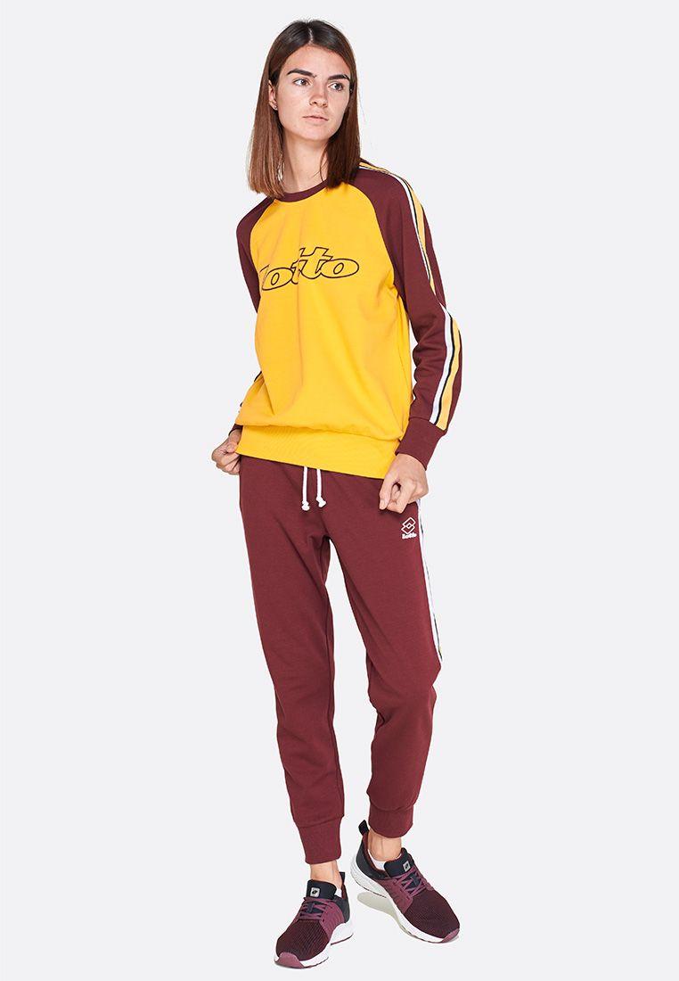 Спортивные штаны женские Lotto ATHLETICA II PANTS STP RIB PL W 210892/03F