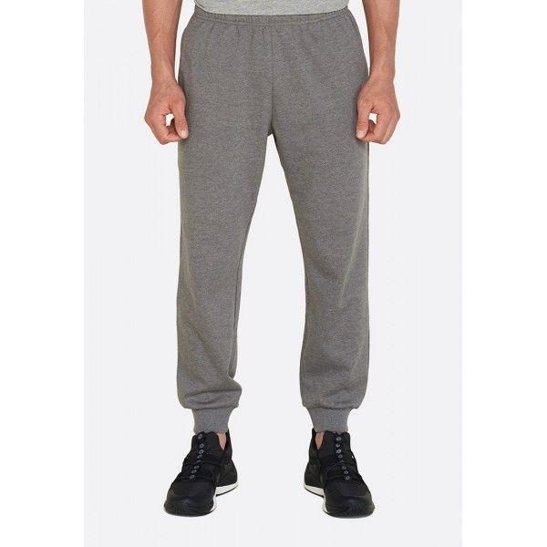 Купить Спортивные штаны мужские Lotto PANT MILANO RIB MEL FL CASTLE GRAY 211032/P73, Хлопок/синтетика, Бангладеш