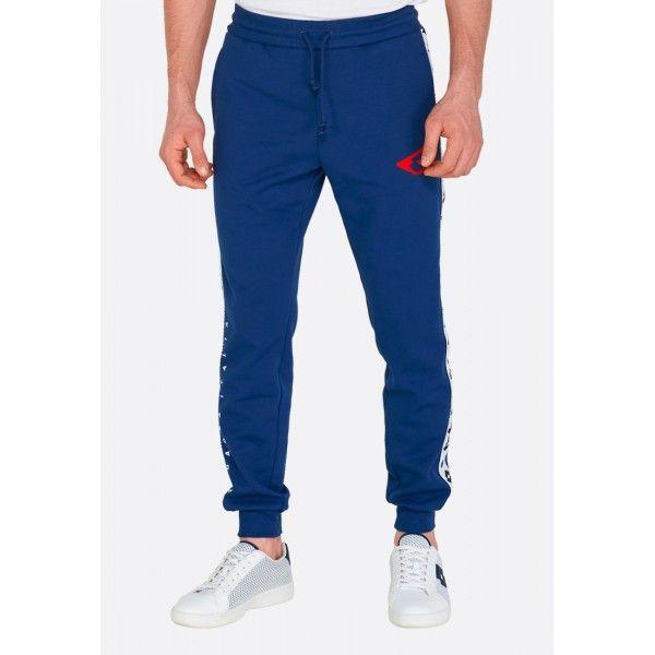 Купить Спортивные штаны мужские Lotto ATHLETICA DUE PANT RIB PL BLUE PEONY 211189/5P9, Хлопок/синтетика, Китай