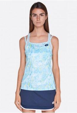 Кроссовки теннисные женские Lotto SPACE 600 ALR W 210744/1O0 Майка для тенниса женская Lotto TOP TEN W TANK PRT PL 211249/26J
