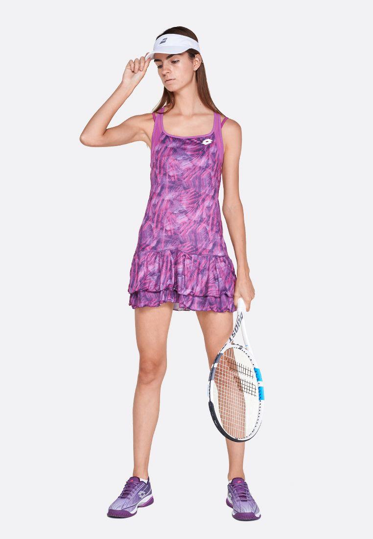 Теннисное платье женское Lotto TOP TEN W DRESS PRT PL 211251/26M