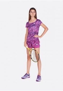 Теннисные шорты женские Lotto TOP TEN W SHORT PRT PL 211252/26M
