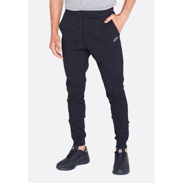 Спортивные штаны мужские Lotto DINAMICO II PANT CUFF CO ALL BLACK 211404/1CL, Хлопок/синтетика, Китай  - купить со скидкой