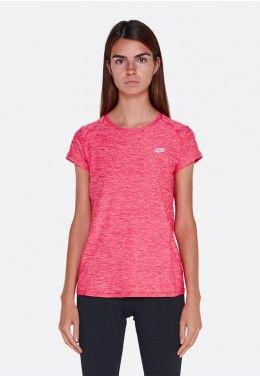 Женские футболки Футболка женская Lotto DINAMICO W TEE MRB JS STC 211412/14D