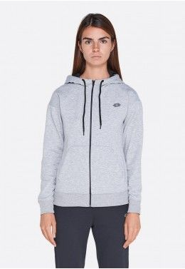 Худи женская Lotto FEEL-FIT II SWEAT MEL HD CO W 210522/1CW Худи женская Lotto DINAMICO W SWEAT FZ HD MEL PL 211417/1CW