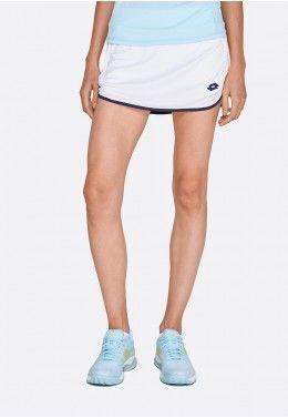 Теннисная одежда для девочек Теннисная юбка детская Lotto SQUADRA G SKIRT PL 211554/07R