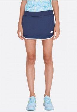 Теннисная экипировка для девочек Теннисная юбка детская Lotto SQUADRA G SKIRT PL 211554/1CI