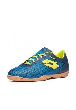 Футбольная обувь для футзала Футзалки (бампы) детские Lotto SOLISTA 700 III ID JR 211643/59I