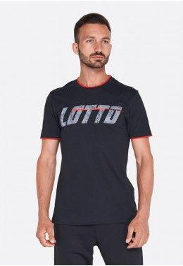 Спортивный костюм мужской Lotto L73 SUIT MEL JS 210951/1PC Футболка мужская Lotto LOGO II TEE JS 211661/1CL