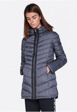 Куртки Куртка женская Lotto LUNGO VERBIER W PAD MEL PL 211714/1CL