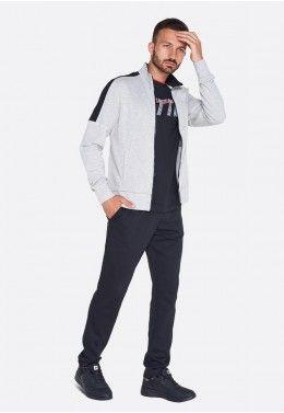 Спортивный костюм мужской Lotto L73 SUIT RIB JS 210953/1D0 Спортивный костюм мужской Lotto SUIT MORE BS MEL FL 211727/1PA