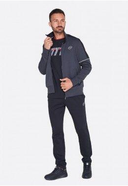 Спортивный костюм мужской Lotto L73 SUIT MEL JS 210951/1PC Спортивный костюм мужской Lotto SUIT MORE BS FL 211728/4C0