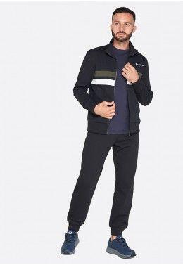 Спортивный костюм мужской Lotto MASON VII SUIT RIB BS PL T5445 Спортивный костюм мужской Lotto SUIT DUAL BS RIB FL 211731/1CL