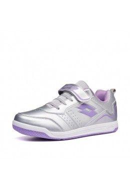 Спортивная обувь для девочек Кроссовки детские Lotto SET ACE XIII JR SL 211885/5GM