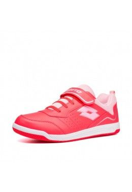 Спортивная обувь для девочек Кроссовки детские Lotto SET ACE XIII JR SL 211885/5L1