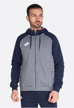 Распродажа мужской одежды Худи мужская Lotto SWEAT FZ DELTA PLUS HD 212778/P73