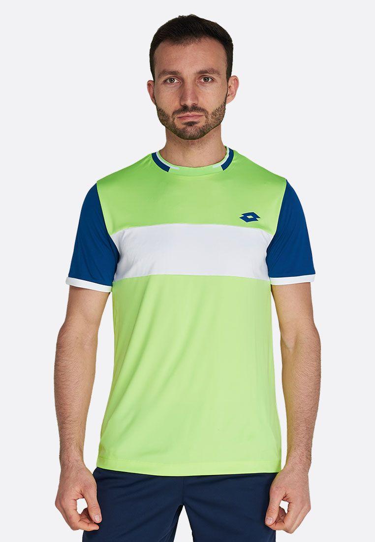 Футболка для тенниса мужская Lotto TOP TEN II TEE BCK PL 212820/1D2