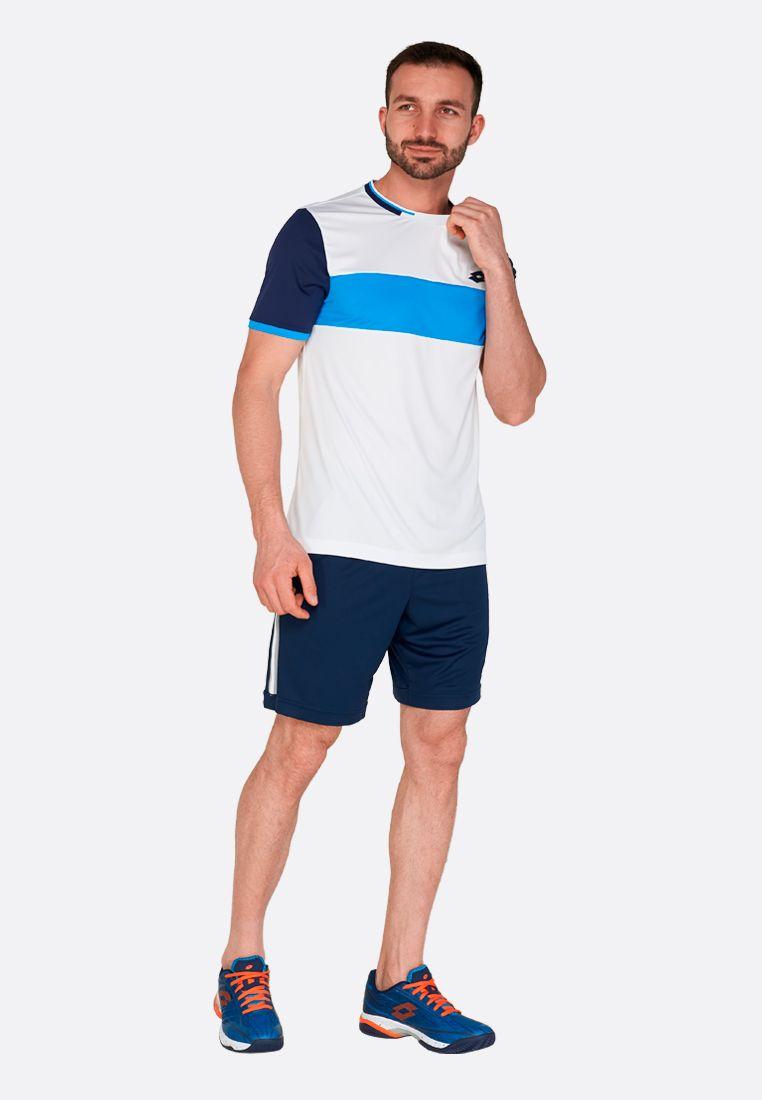 Футболка для тенниса мужская Lotto TOP TEN II TEE BCK PL 212820/1Q5