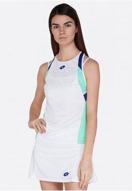 Кроссовки теннисные женские Lotto STRATOSPHERE SPD W S1476 Майка для тенниса женская Lotto TOP TEN W II TANK PL 212830/5PC
