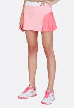 Теннисная экипировка Теннисная юбка женская Lotto TOP TEN W II SKIRT PL 212835/5PB