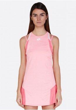 Кроссовки женские Lotto COURT LOGO XI W R8094 Теннисное платье женское Lotto TOP TEN W II DRESS PL 212837/5PB
