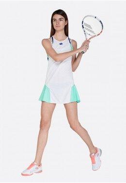 Теннисное платье женское Lotto TOP TEN W II DRESS PL 212837/5PC