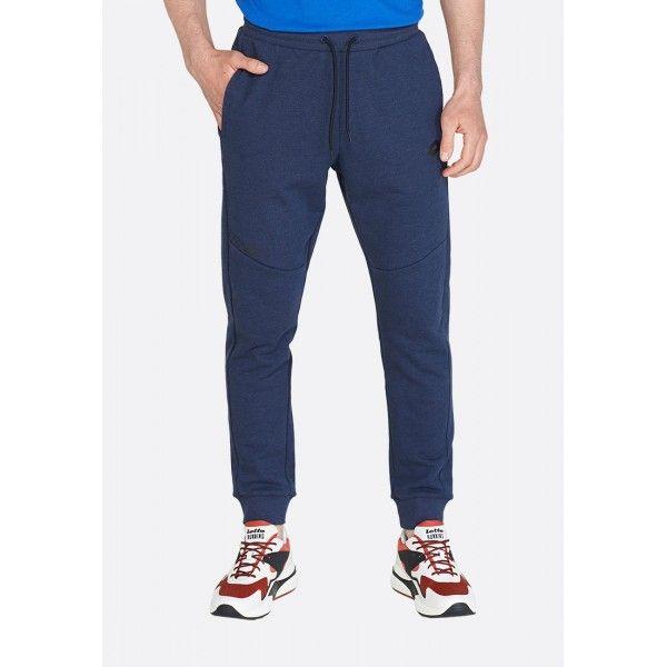 Купить Спортивные штаны мужские Lotto DINAMICO II PANT RIB MEL FT NAVY BLUE 213005/1CI, Хлопок/синтетика, Бангладеш